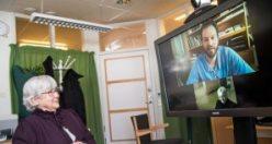İsveç'te sanal tedavi yaygınlaşıyor