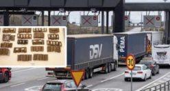 Öresund Köprüsü'nde uyuşturucu baskını