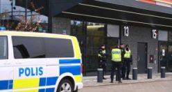 İsveç'te çeteler mahkeme önünde birbirine girdi