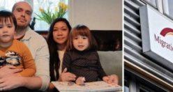 Göç idaresinden skandal karar: beş yıllık evliliğe ve iki küçük çocuğa rağmen sınır dışı edildi