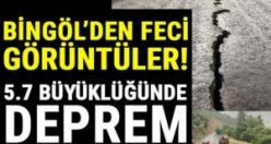 Bingöl'de 5.7 büyüklüğünde deprem! Erzurum, Muş ve Erzincan'dan da hissedildi