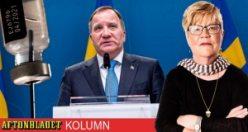 Salgın İsveç'te hükümet değişikliğine neden olabilir