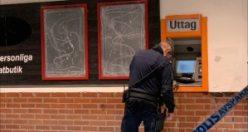 Örebro'da hırsızlar ATM'yi havaya uçurdu