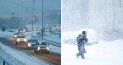 """SMHI uyardı: """"Dondurucu soğuklar geliyor"""""""