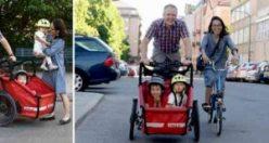 İsveçli babadan harika girişim