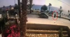 İsveçli kadının öldüğü kaza kamerada