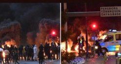 Danimarkalı ırkçı İsveç'i yangın yerine çevirdi