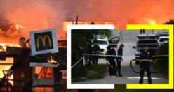 Çıkan yangında yok olan Stockholm'deki McDonalds'ın ortağı çete tarafından öldürülmüş