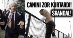 Avrupa'nın göbeğinde skandal görüntüler!