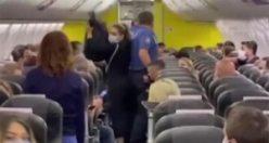 Yolcu uçağında taciz iddiası uçağı karıştırdı