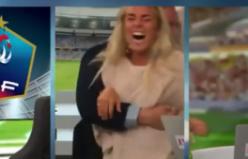İsveç'in Son Dakika Golüne Deli Gibi Sevinen Sunucular