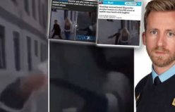 İsveç'te sokak ortasında kadına şiddet görüntüleri dünyaya yayıldı
