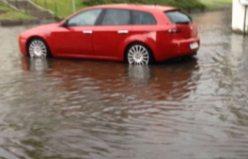 Norrtälje'de Yağmur Kaosu