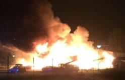 İsveç'te cami yakıldı!