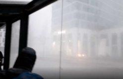 Fırtına İsveç'i böyle vurdu