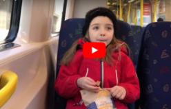 İsveç cipsini tadan küçük Türk kızının ilk sözleri