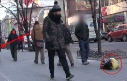 Sokak ortasında soğuktan donmak üzere çocuğa bakın kim yardım etti?