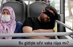 Bakan Fahrettin Koca'dan esprili maske uyarısı: Bu gidişle sıfır vaka rüya mı?