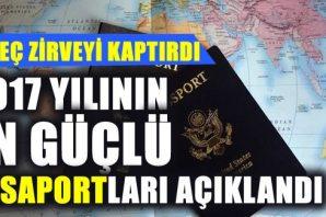 2017 yılının en güçlü pasaportları belli oldu! İsveç zirveyi kaptırdı