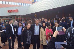 Abdullah Ağralı Seçim çalışmalarını İsveç'e taşıdı