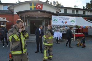 İsveç'te, 'Açık Cami Günü'ne polis ve itifaiyeden destek