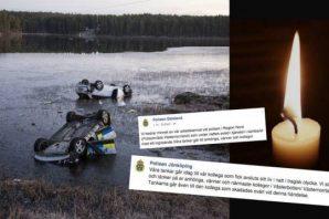 Kovalamacada ölen İsveçli polisin feci kaza görüntüleri
