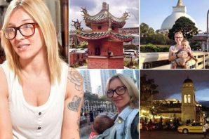 Yardım parasıyla dünya turu yapan kadın paylaştığı bu fotoğraflarla yakayı eleverdi
