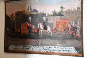 Osmanlı Padişahının paha biçilmez Av Seferi Tabloları İsveç Müzesinde