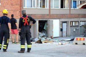 İşte İsveç'teki patlama görüntüleri