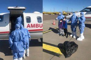 Ambulans uçak ve Türk doktorlar İsveç'te: Uçuş için son hazırlıklar