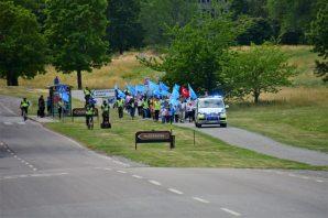 Urumçi katliamı Stockholm'de protesto edildi