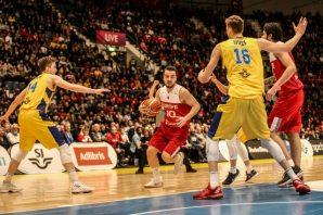 İsveç Türkiye Milli basketbol maçından müthiş kareler