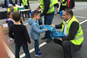 İsveç'te yardıma mutahç Suriyeli sığınmacılara yardım