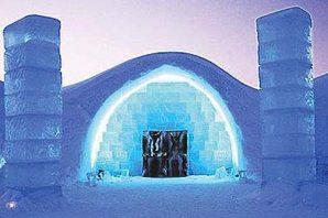 Tasarım Harikası İsveç Buz Oteli