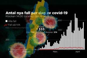 İsveç'te vaka sayısı 12 bin 500 geçti işte son durum