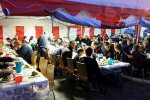 Malmö'de iftar çadırı