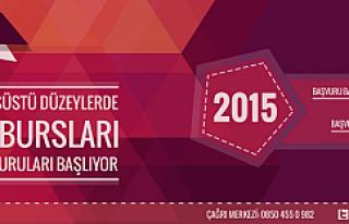 2015 Türkiye Bursları Başvuruları Başladı
