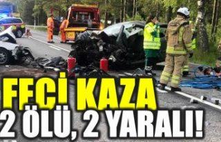 İsveç'teki bu feci kazada 2 kadın öldü
