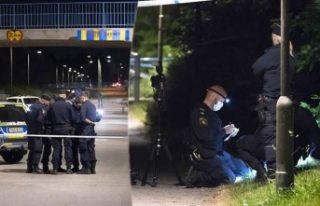 Malmö'de cinayet ve katil zanlısı yakalandı