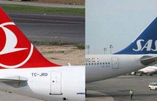 THY, SAS Havayolları ile ortak uçuş anlaşması...