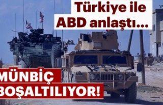 Türkiye ile ABD'den Münbiç için 3 aşamalı...