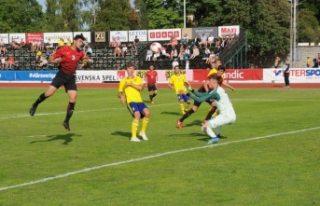 18 Yaş Altı Milli Futbol Takımı, İsveç'i...