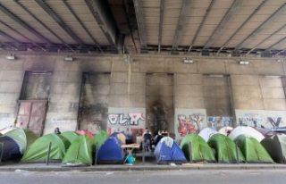 Fransa'da sığınmacılara tahliye operasyonu!