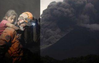 Guatemala'da yanardağ faciası: En az 25 ölü
