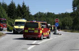 Hörby'de kaza biri ağır 5 yaralı