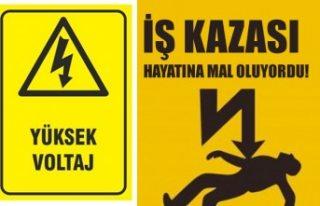 İsveç'te iş kazası yüksek voltaja kapılan...