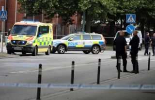 İsveç'te kamyonun çarptığı kadına yardım...
