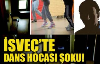 İsveç'te ünlü dans hocası tecavüzden mahkum...
