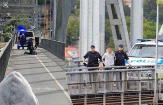 Lidingö'de vurulan kişi hayatını kaybetti