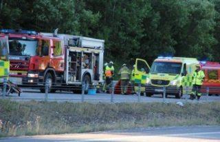 Stockholm'de feci kaza 2 ölü 1 ağır yaralı